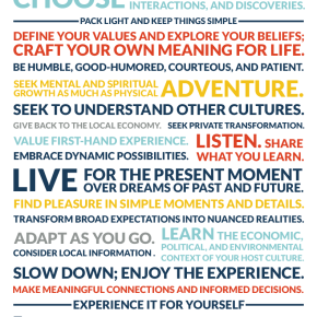 2012 Indie Travel Challenge Week 6: The Indie TravelManifesto