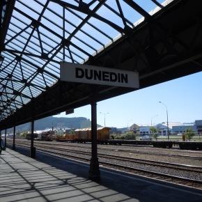Road trip: New Zealand.Dunedin.