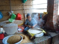 The delicate art of making rice paper