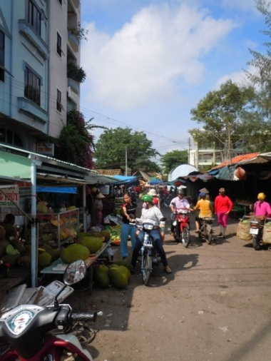 Market in Vinh Long