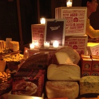 Murray's Cheese Table. I need one of these at my house.