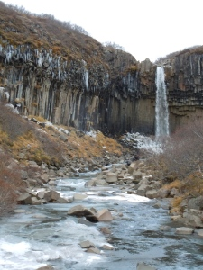 Svartifoss, the black waterfall.