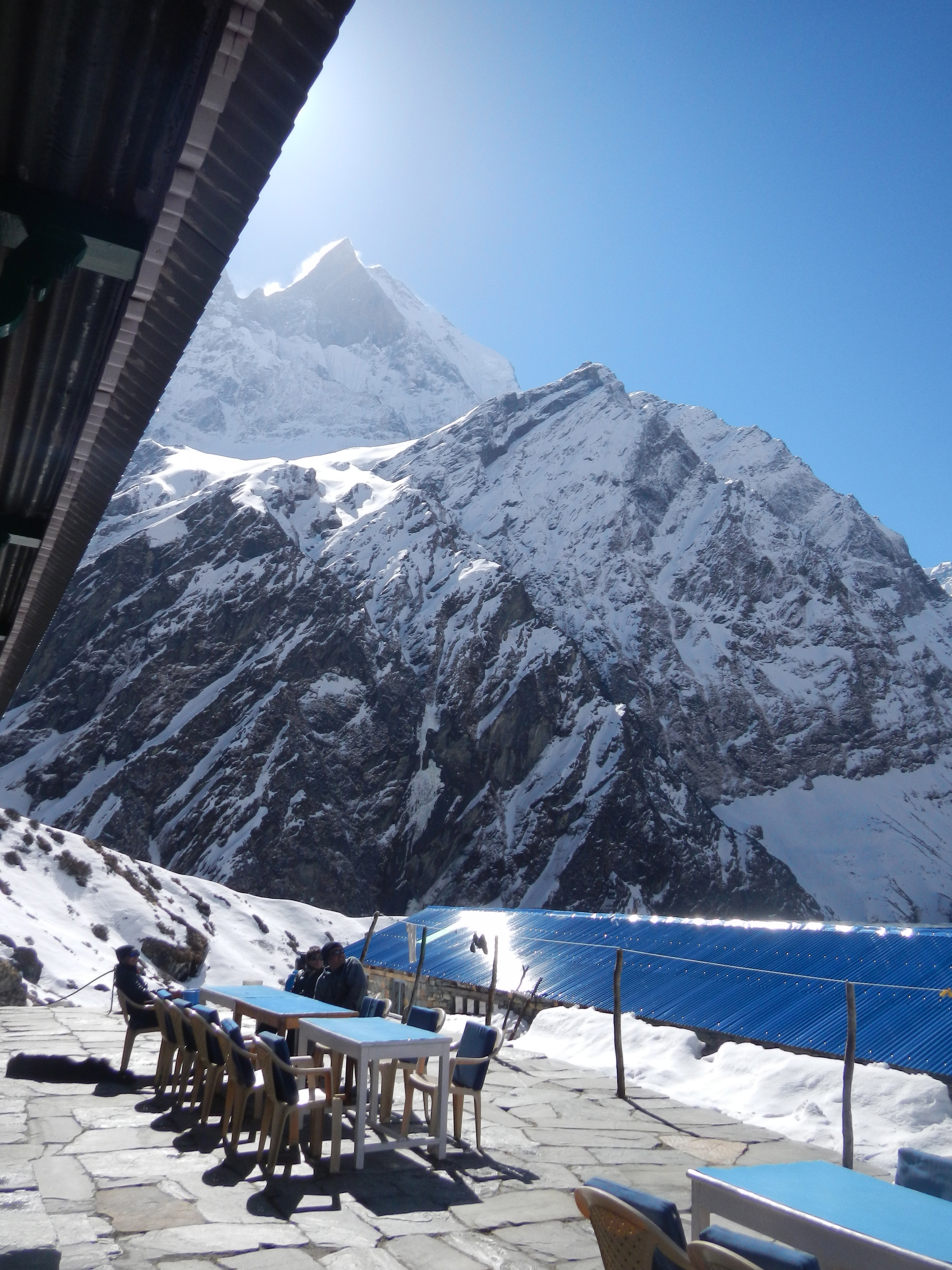 Trekking Nepal Annapurna Base Camp To Jhinu Katie On