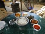 Dal bhat ingredients.
