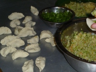 Making the momos