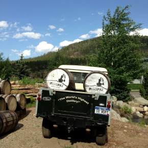Bottling Bourbon in Breckenridge