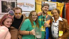 The good folks from Gore Range Brewery.
