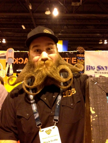 Yes, this beard is real.