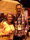 Me and Sam Cagalione from Dogfish Head Brewery.