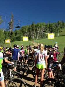 Pre-race: Vail Rec District Mountain Bike Series