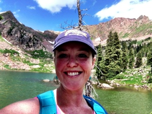 Selfie after hiking to Gore Lake near Vail.