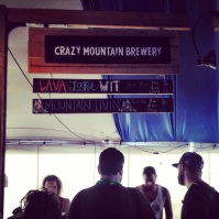 My local brewery, Crazy Mountain, representing.
